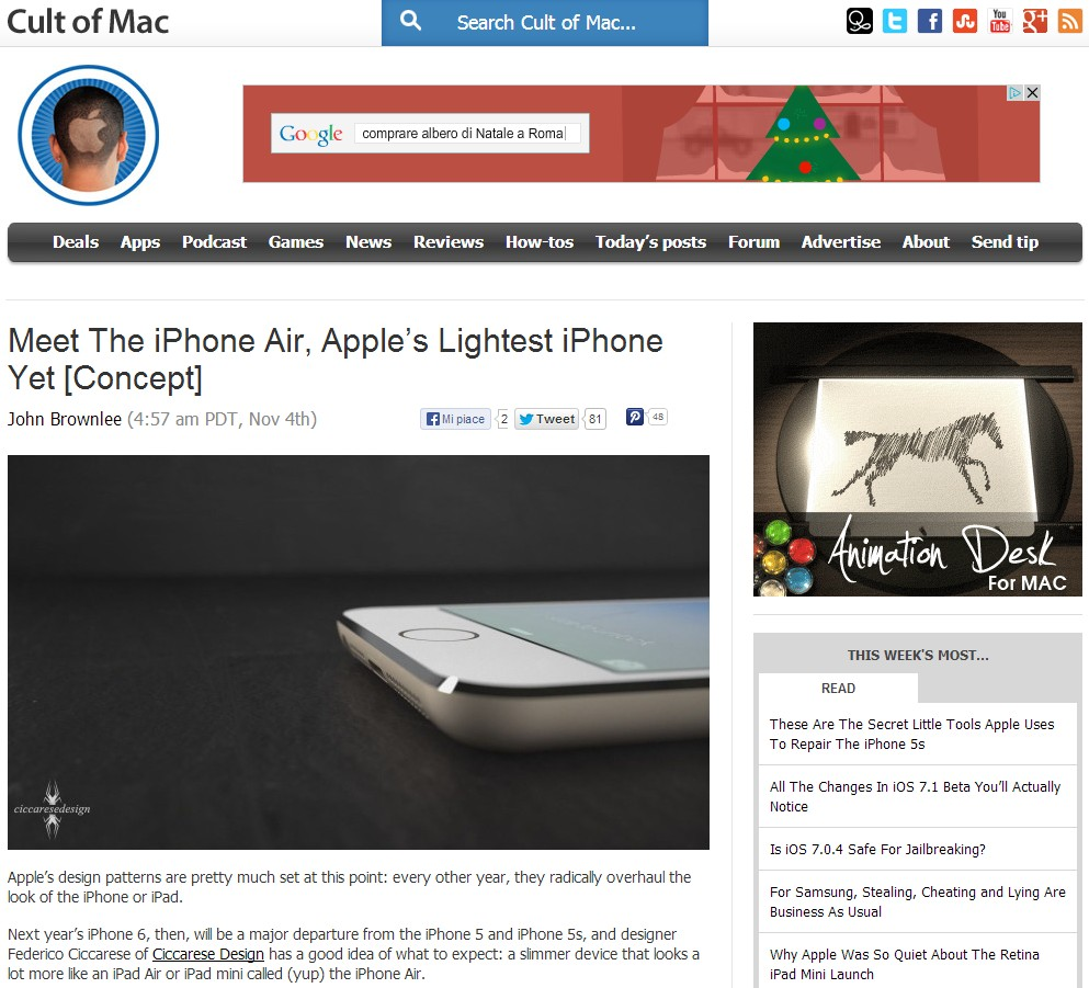 iPhone Air and Cult of Mac