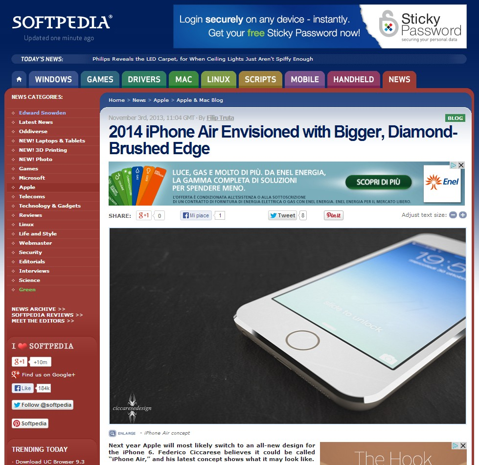 iPhone Air and Softpedia