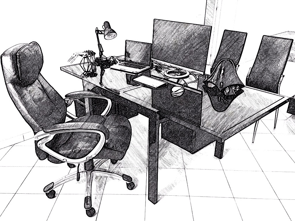 Workstation Sketch